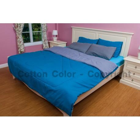 ชุดผ้าปูที่นอน Cotton color รุ่น Salmon on Ice
