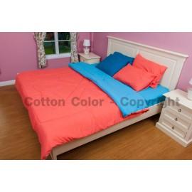 ชุดผ้าปูที่นอน Cotton color รุ่น Happy Mom