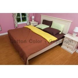 ชุดผ้าปูที่นอน Cotton color รุ่น Indian Earthy