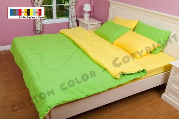 set ผ้าปูที่นอนสีพื้น